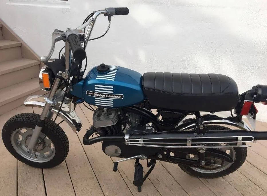 First Year Harley Mini — 1973 Harley-Davidson X-90